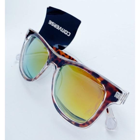 Converse • NWT Tortoise Shell Print Sunglasses